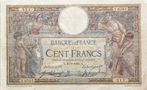 France 100 Francs Women and childs - 15-01-1920  Serial Y.6701 - VF