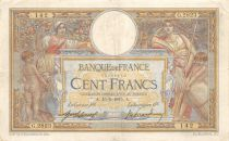 France 100 Francs Women and childs - 15-05-1915  Serial G.2823 - VF
