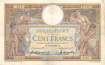 France 100 Francs Women and childs - 16-03-1921  Serial N.7412 - VF