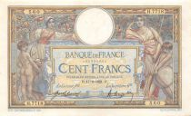 France 100 Francs Women and childs - 17-06-1921  Serial H.7718 - VF