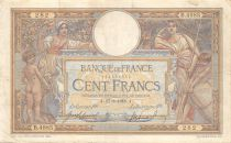France 100 Francs Women and childs - 17-08-1918  Serial B.4985 - F to VF