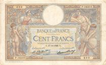 France 100 Francs Women and childs - 17-12-1926 Serial P.16355 - VF