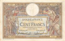 France 100 Francs Women and childs - 20-05-1914  Serial Z.2236 - VF