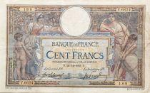 France 100 Francs Women and childs - 20-11-1919  Serial V.6624 - VF