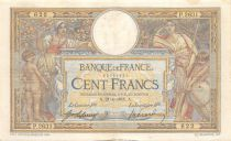 France 100 Francs Women and childs - 21-01-1915  Serial P.2631 - VF