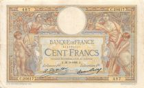 France 100 Francs Women and childs - 21-02-1928 Serial C.20617 - VF