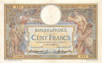 France 100 Francs Women and childs - 21-09-1921  Serial P.8040 - VF
