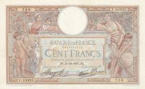 France 100 Francs Women and childs - 21-10-1937 Serial F.55925