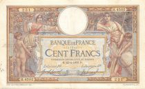 France 100 Francs Women and childs - 22-02-1918  Serial H.4502 - F to VF