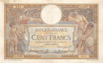 France 100 Francs Women and childs - 23-08-1918  Serial G.5007 - VF