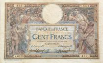 France 100 Francs Women and childs - 23-09-1919  Serial Y.6323 - VF