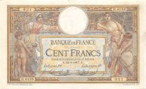 France 100 Francs Women and childs - 24-08-1917  Serial R.4199 - VF