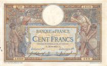 France 100 Francs Women and childs - 24-09-1919  Serial H.6328 - VF