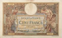 France 100 Francs Women and childs - 25-08-1919 - Serial D.6223 - F+