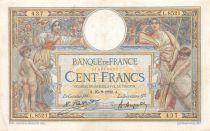 France 100 Francs Women and childs - 25-09-1922  Serial L.8521 - VF