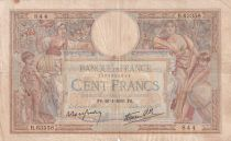 France 100 Francs Women and childs - 26-01-1939 - Serial B.63358 - F+