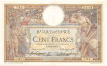 France 100 Francs Women and childs - 26-06-1917  Serial D.4101 - VF+