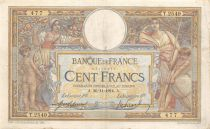 France 100 Francs Women and childs - 26-11-1914  Serial T.2549 - VF
