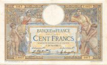 France 100 Francs Women and childs - 26-12-1922  Serial Z.8827 - VF