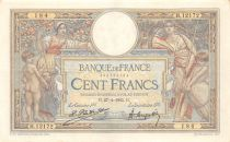 France 100 Francs Women and childs - 27-04-1925 Serial H.12172-184 - VF+