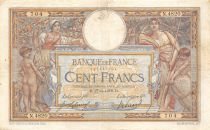 France 100 Francs Women and childs - 27-06-1918  Serial N.4820 - F to VF