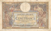 France 100 Francs Women and childs - 28-01-1916  Serial T.3245 - F