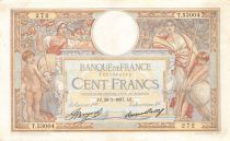 France 100 Francs Women and childs - 28-01-1937 Serial T.53004 - VF
