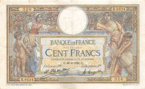 France 100 Francs Women and childs - 28-06-1922  Serial Q.8234 - VF