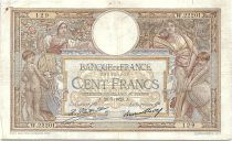 France 100 Francs Women and childs - 28-07-1928 Serial W.22201 - VF