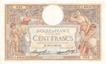 France 100 Francs Women and childs - 29-11-1934 Serial G.46626 - VF+