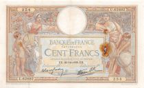France 100 Francs Women and childs - 29-12-1938 Serial U.62892 - F