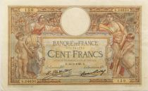 France 100 Francs Women and childs - 30-03-1929 - Serial S.24650 - VF