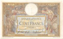 France 100 Francs Women and childs - 30-06-1915  Serial O.2899 - VF