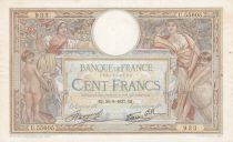 France 100 Francs Women and childs - 30-09-1937 Serial U.55605