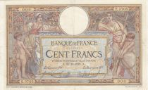 France 100 Francs Women and childs - 31-10-1916  Serial E.37053 - VF