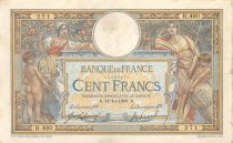 France 100 Francs Women with child - with LOM - 14-10-1908 Serial H.480 - VF