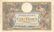 France 100 Francs Women with child - with LOM - 15-10-1908 Serial J.481 - F+