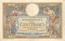 France 100 Francs Women with child - with LOM - 22-04-1908 Serial Z.190 - F