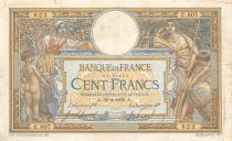 France 100 Francs Women with child - with LOM - 30-04-1909 Serial E.807 - F