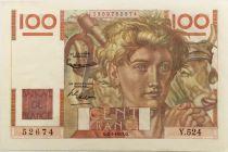 France 100 Francs Young Farmer - 02-01-1953 - Série Y.524 - VF