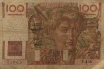 France 100 Francs Young Farmer - 07-02-1952 - Serial F.430 - F