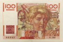 France 100 Francs Young Farmer - 09-01-1947 - Série O.190 - VF+
