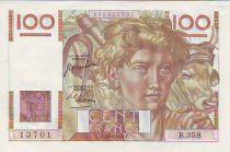 France 100 Francs Young farmer - 1950