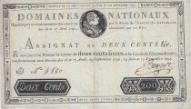 France 100 Livres - 19 Juin et 12 Septembre 1791 - Sign. LEGROS - D.