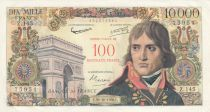 France 100 NF / 10000 Francs Bonaparte - 30-10-1958 Serial Z.145 - XF to AU