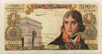France 100 NF Bonaparte - 01-02-1962 - Serial J.141 - F+