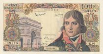 France 100 NF Bonaparte - 01-12-1960 - Serial E.99 - XF