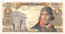 France 100 NF Bonaparte - 03-09-1959 - Serial A.33 - VF