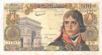 France 100 NF Bonaparte - 03-09-1959 - Serial B.29 - F to VF