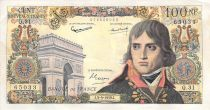 France 100 NF Bonaparte - 03-09-1959 - Serial Q.31 - VF